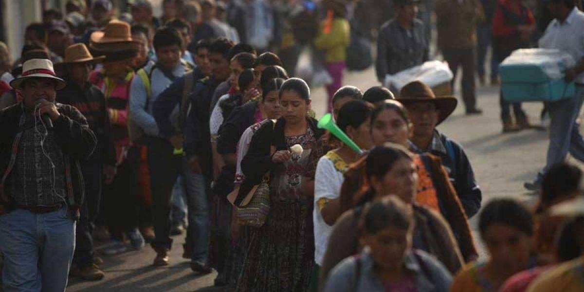 Campesinos exigirán respeto a los Derechos Humanos y la lucha contra la corrupción