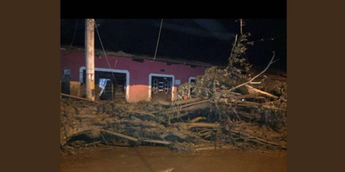 ¡Atención! 34 personas heridas y cuatro desaparecidos en avalancha en Corinto