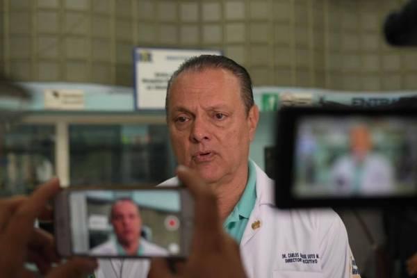 Ministro de Salud, Carlos Soto.
