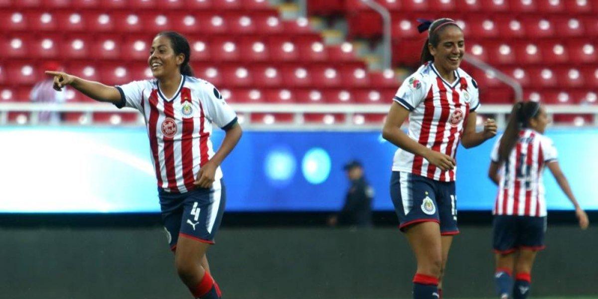 Jugadoras de Chivas no se asustan con el Estadio Azteca