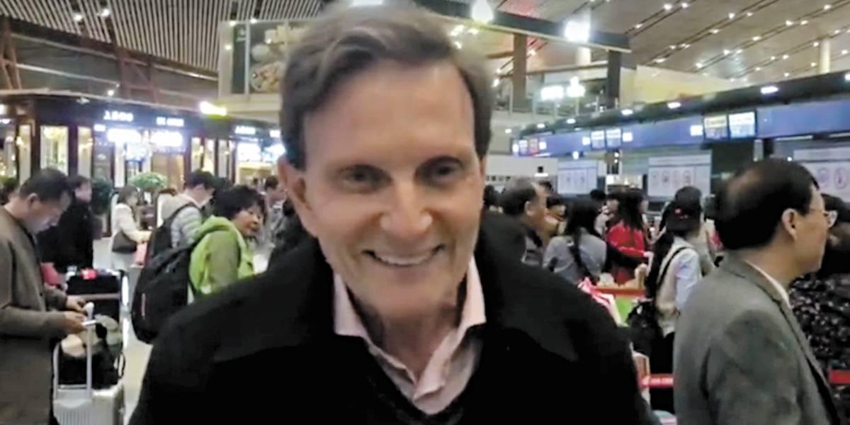 Em viagem à China, Crivella aumenta em 46% valor de diária gasta com o dinheiro público no exterior