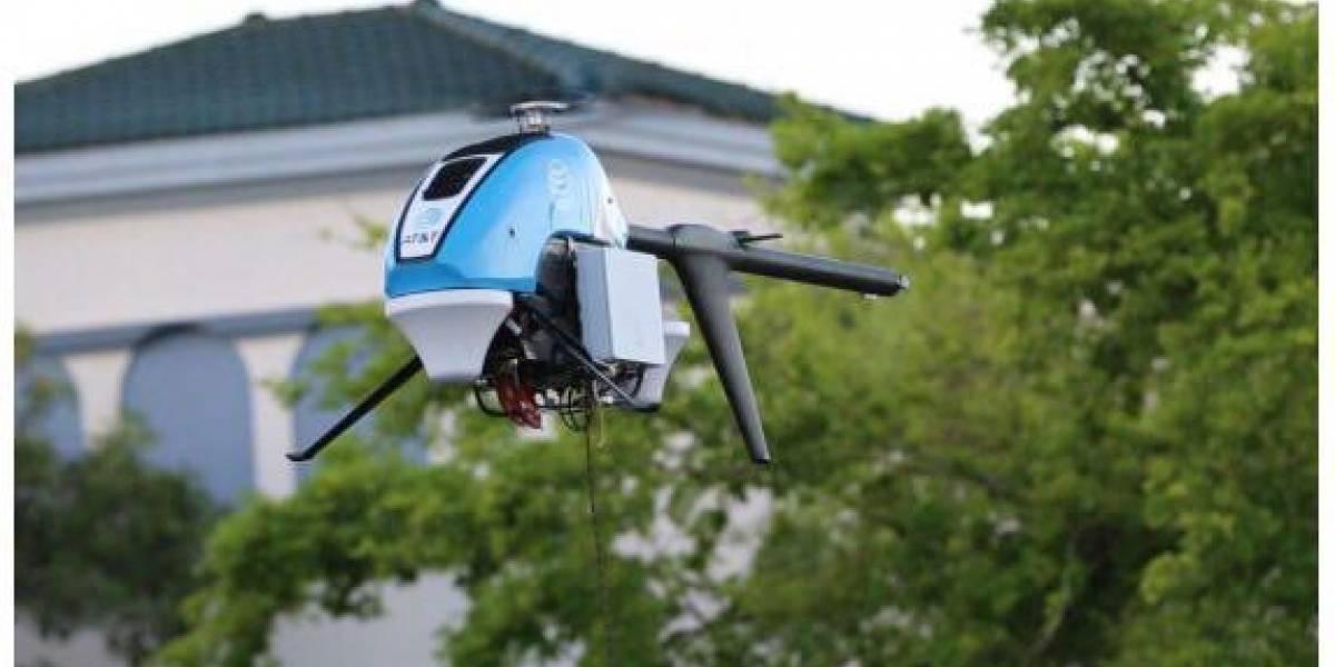 """""""Drone"""" de AT&T ofrece Internet en la isla"""