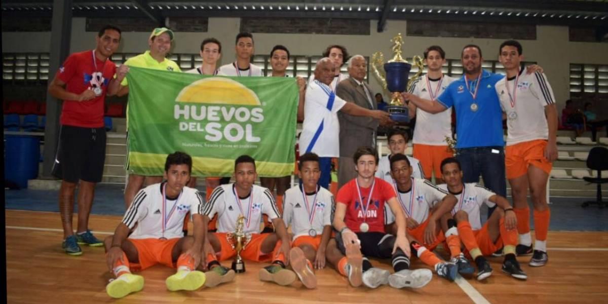 Distrito Nacional campeón Nacional de Futsal Masculino