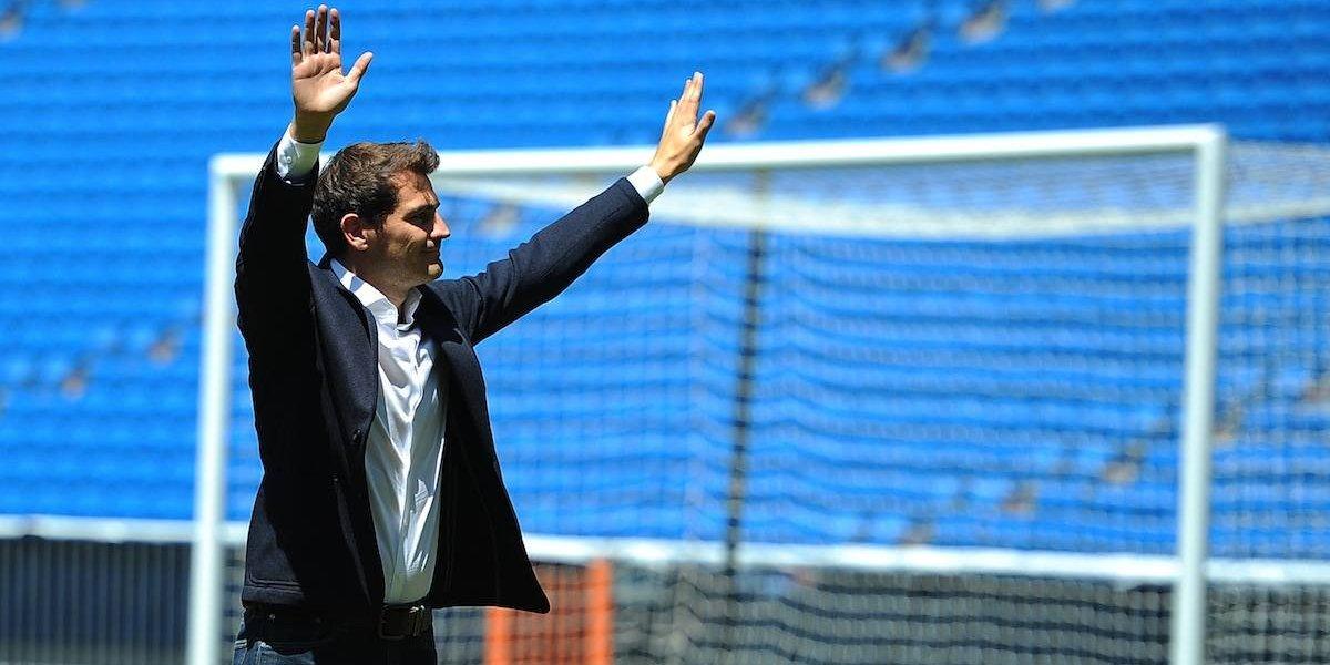 Iker Casillas superó a Messi y Cristiano para ganar el Premio Golden Foot 2017