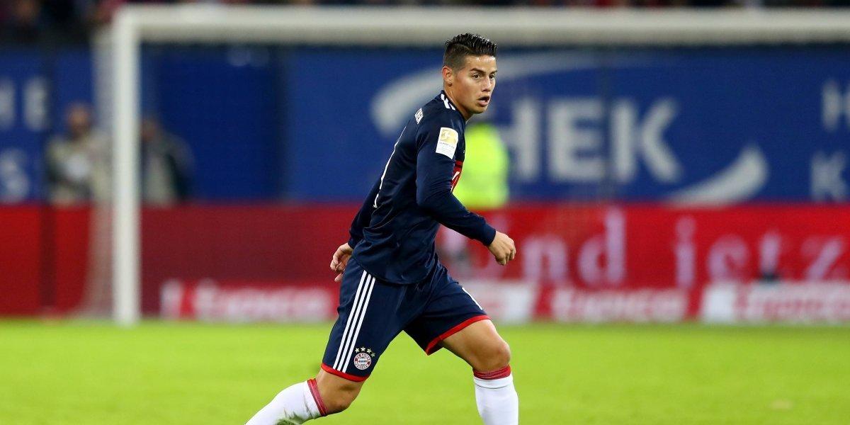 ¿En serio? Bayern compraría a James Rodríguez para vendérselo al Barcelona