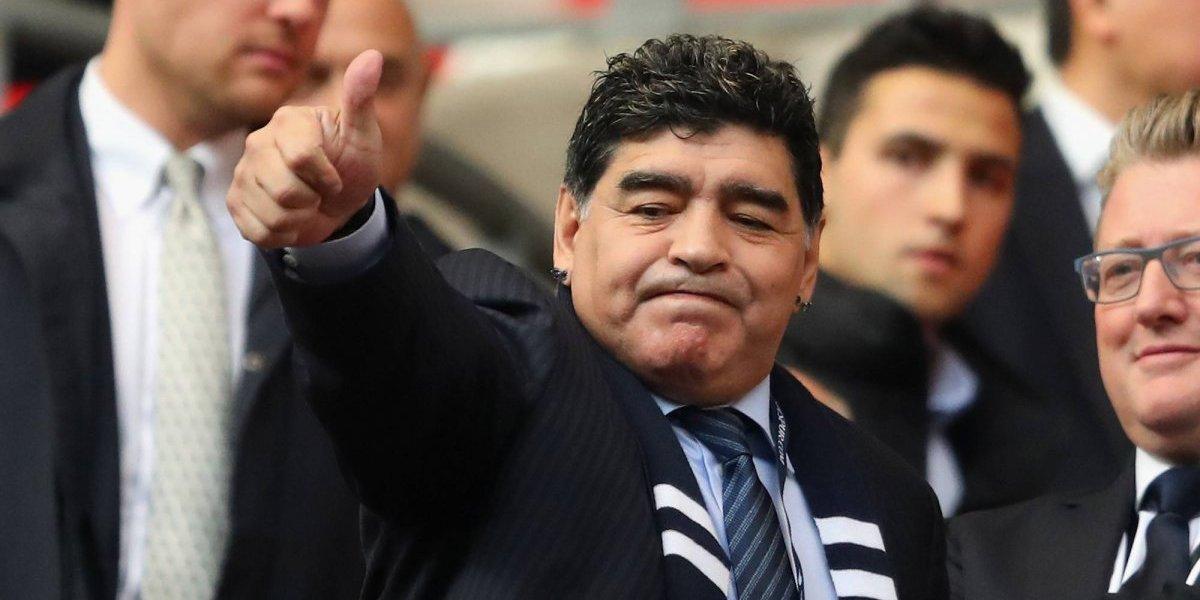 Maradona hace polémica declaración al declararse 'Soldado' de Maduro