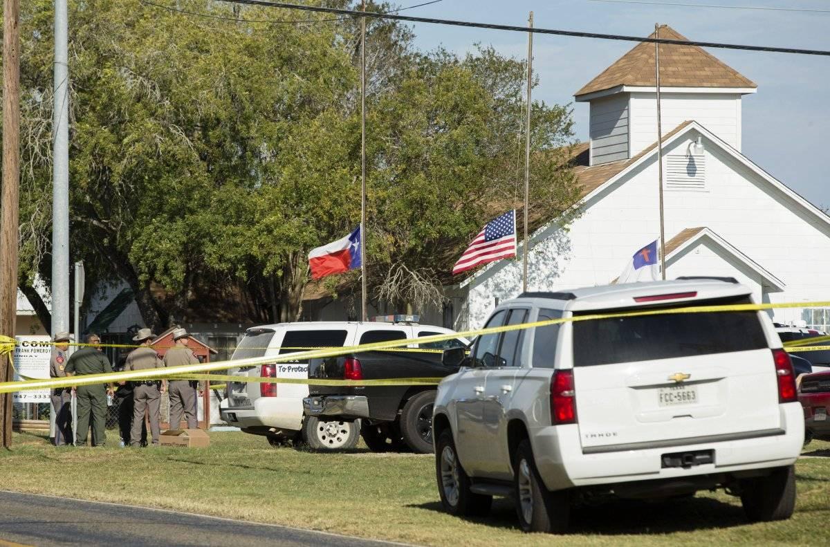 El tiroteo en una iglesia en Texas dejó a 26 personas fallecidas.
