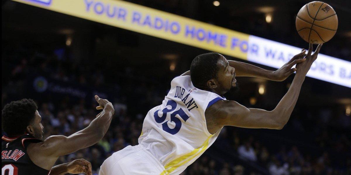 Durant y los Warriors recuperan su puntería