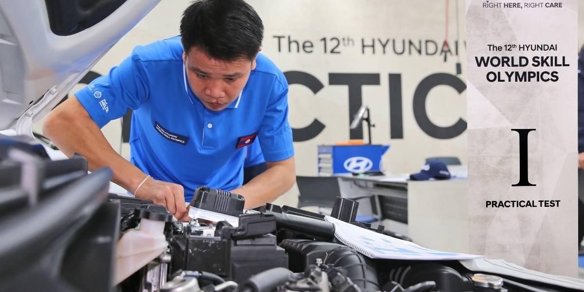 Hyundai Motor celebró su 12ª Olimpiada Mundial de Habilidad