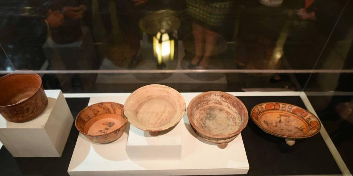 Guatemala recupera 17 piezas arqueológicas robadas