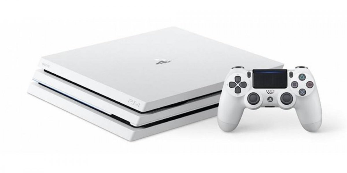 Lanzará Sony PlayStation 4 Pro color blanco
