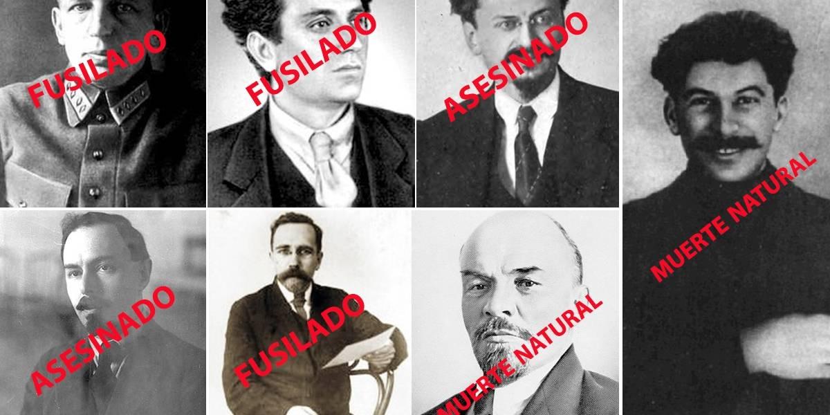 100 años de la revolución rusa: Así mató Stalin a los líderes revolucionarios bolcheviques de 1917
