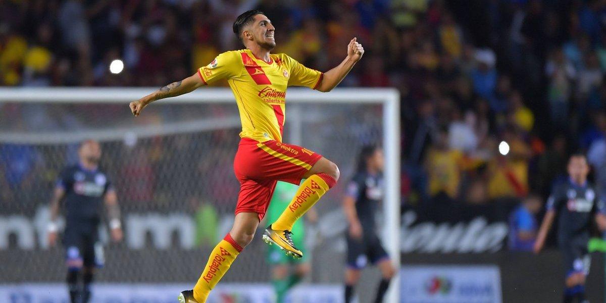 """Diego Valdés la rompe como goleador en México: """"Veía siempre a Ronaldinho en la tele y anhelaba jugar como él"""""""