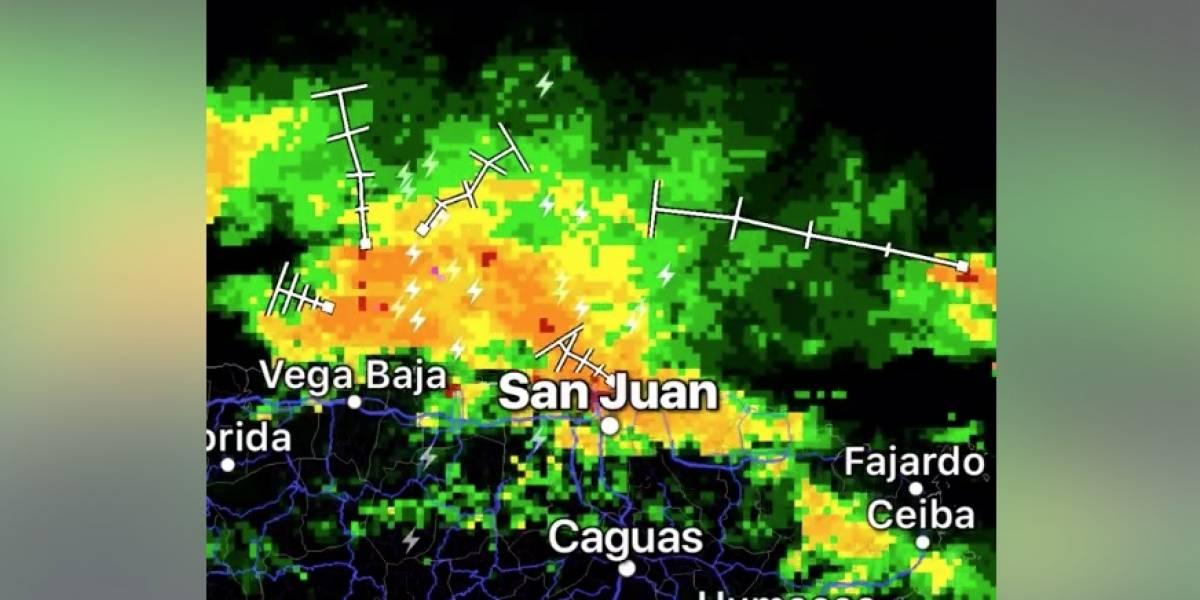 Inundadas varias zonas del área metropolitana