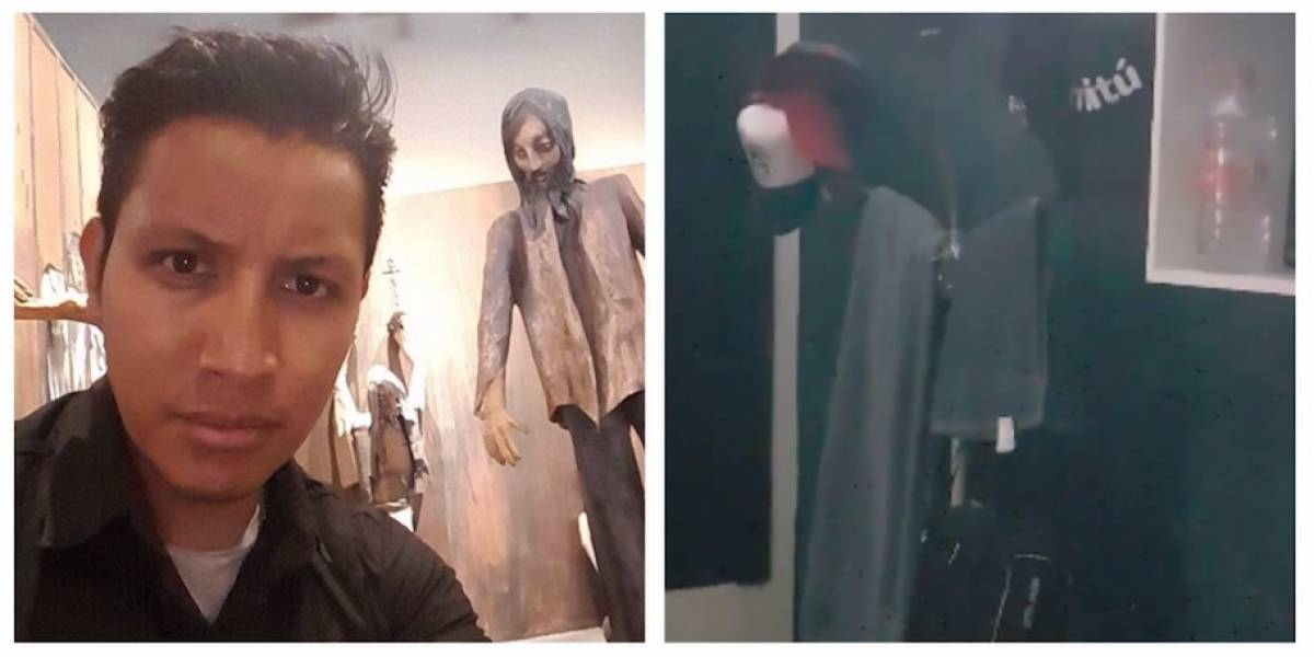 VIDEO. Supuesto suceso paranormal sorprende al youtuber Oxlack Castro
