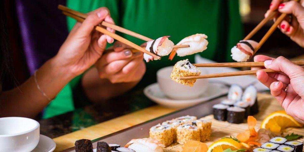 Una opción ideal para salir con tus amigas y comer todo el sushi que puedas