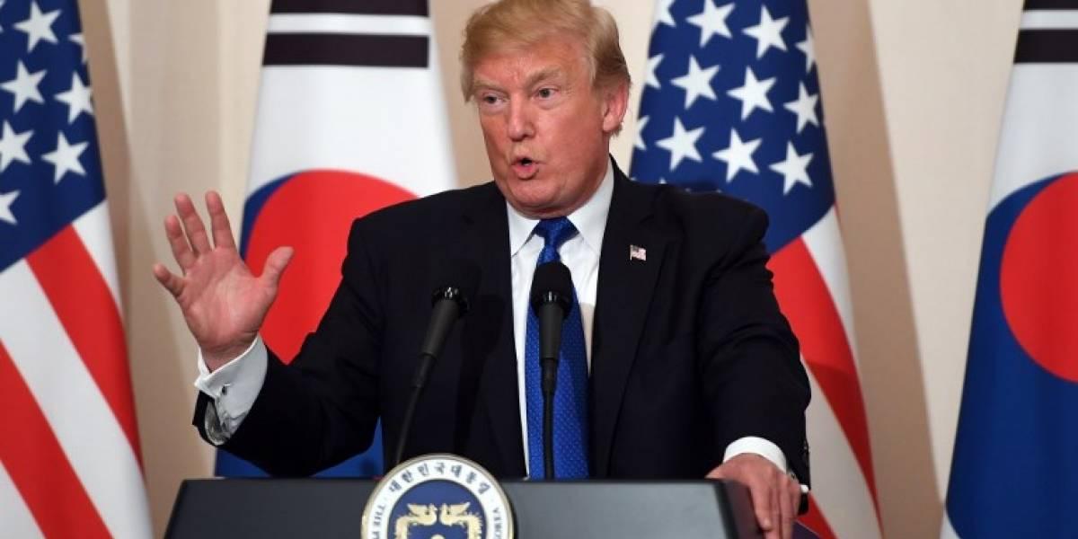"""Trump califica a Corea del Norte de """"amenaza mundial"""""""