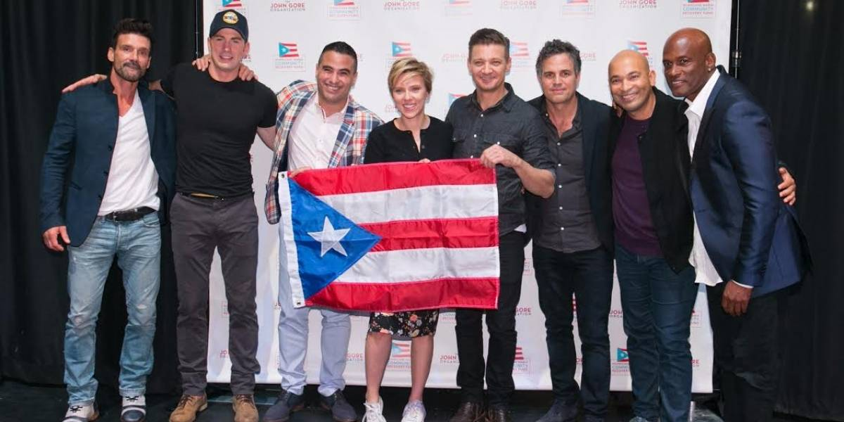 Scarlett Johansson recauda medio millón para Puerto Rico