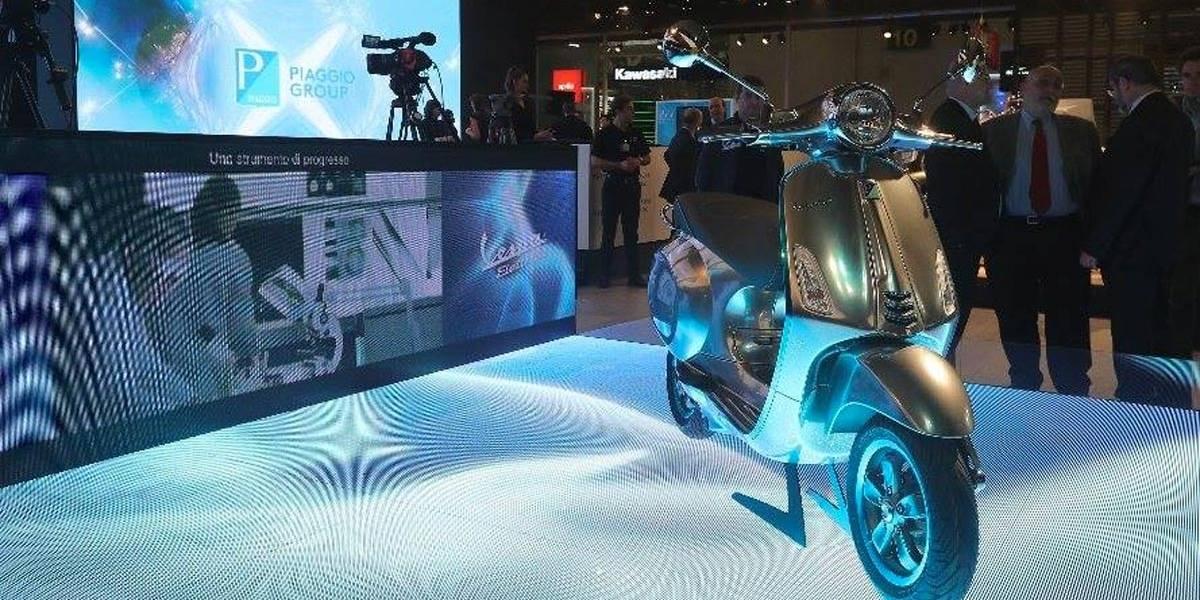 Vespa elétrica chegará ao mercado em 2018, anuncia Piaggio