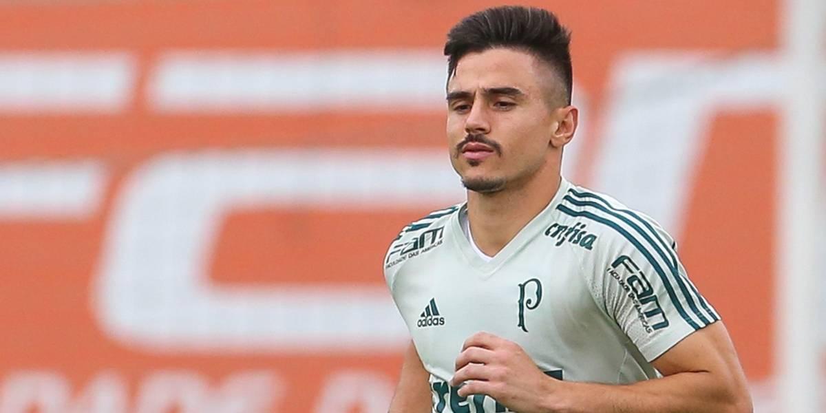 Willian não treina no campo e deverá ser desfalque do Palmeiras em Salvador