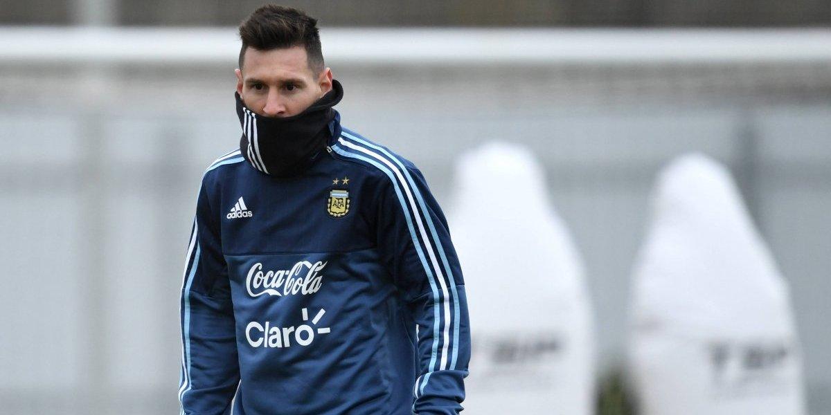 Argentina ya se entrena pensando en Rusia