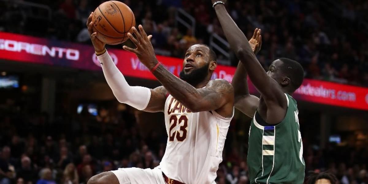 LeBron James y Kevin Love guían a los Cavaliers para triunfar y salir de la mala racha en la NBA