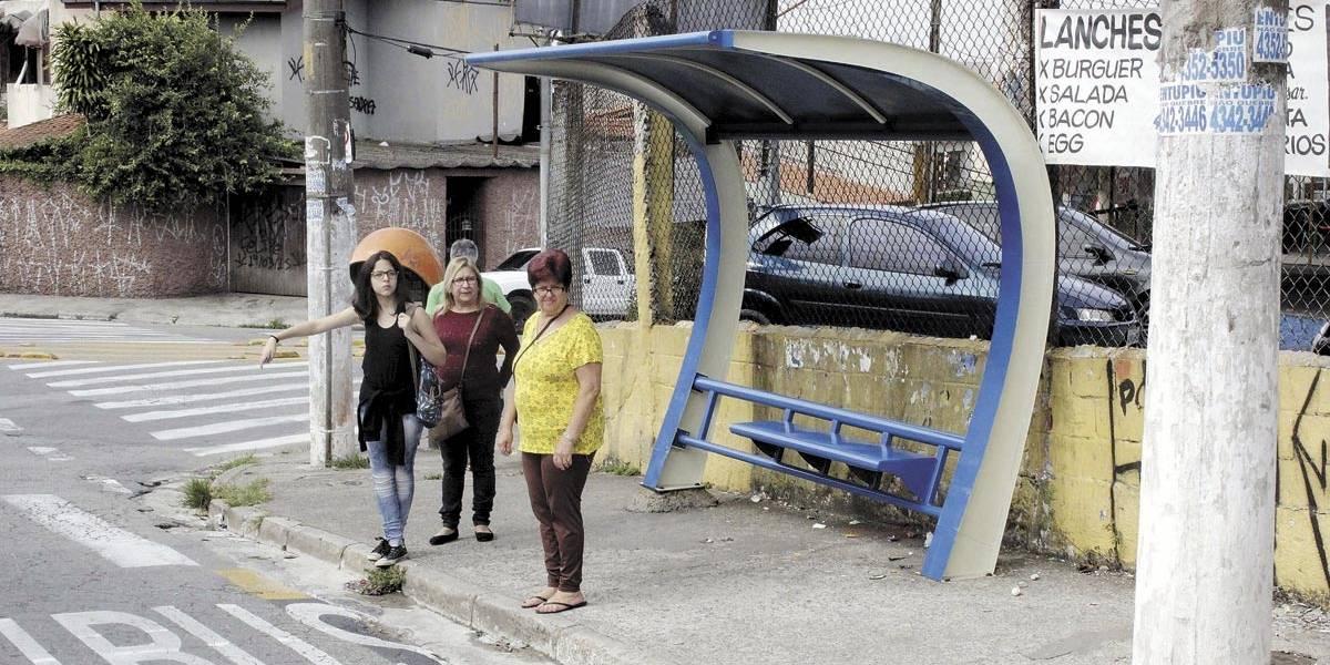 Pontos de ônibus terão vigilância policial em Santo André