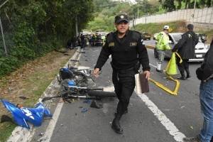 Accidente zona 16, Las Cumbres