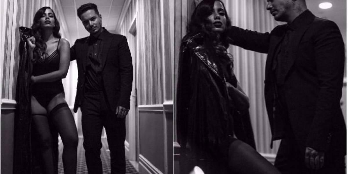 Anitta grava clipe em Nova York com J Balvin