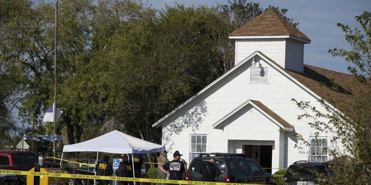 Video capturó 7 minutos de matanza en iglesia de Texas