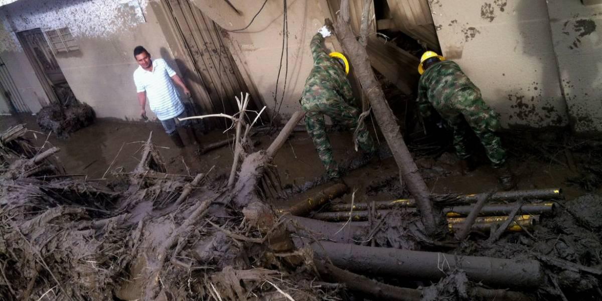 Confirman 11 muertos y 18 desaparecidos por avalancha en Corinto