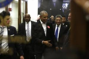 Barack Obama cumple jurado de Chicago