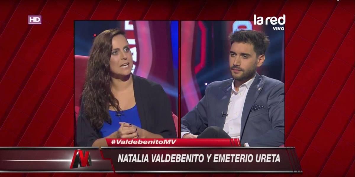 El duro round entre Natalia Valdebenito e Ignacio Franzani
