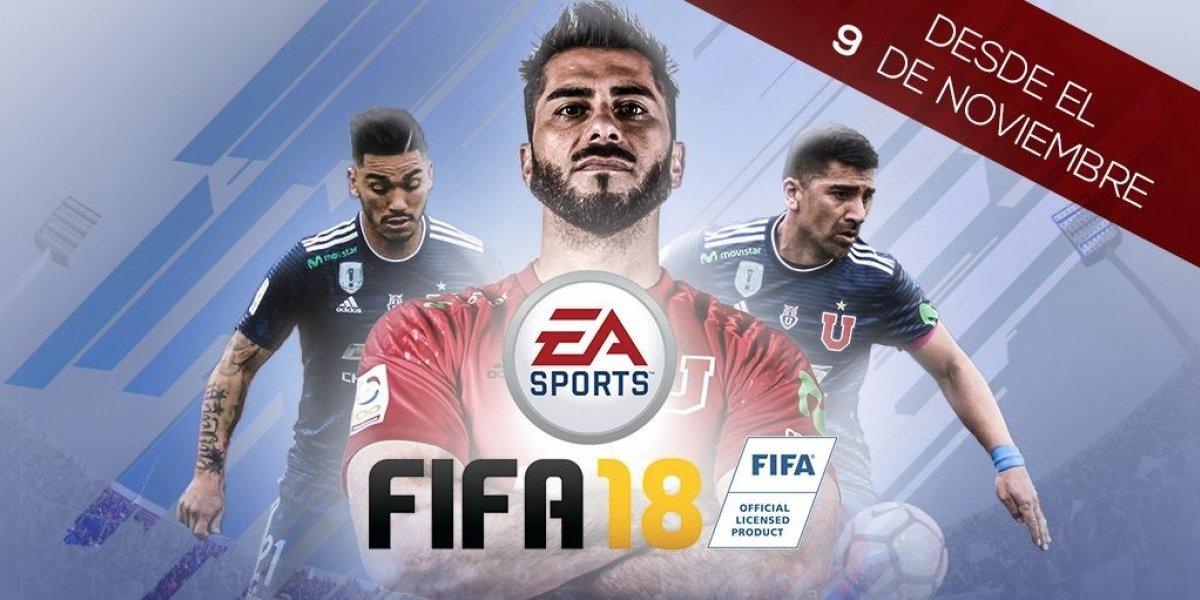 Universidad de Chile tendrá equipo estelar en el FIFA 18