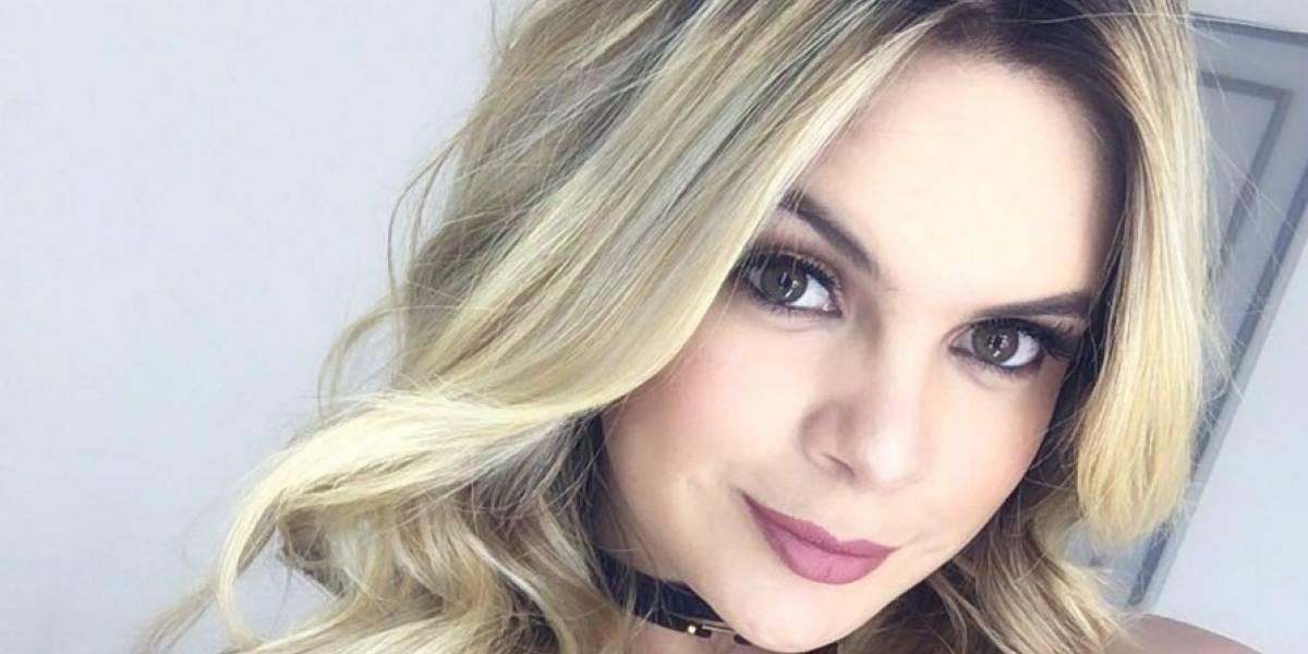Modelo colombiana sufrió accidente automovilístico, el segundo en menos de un año