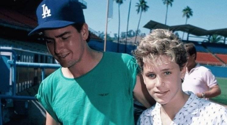 Charlie Sheen y Corey Haim