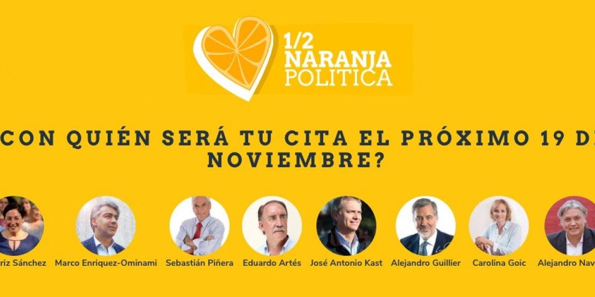¿Aún no sabe por quién votar?: Vuelve la Media Naranja Política, la app que le muestra a su candidato más compatible