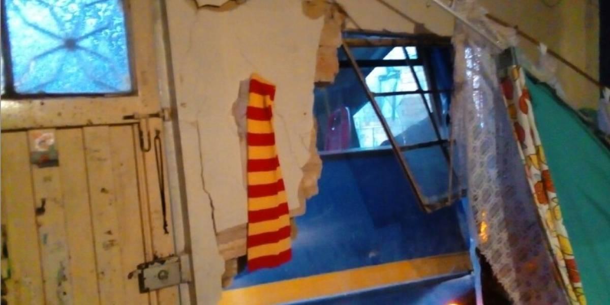 SITP se estrelló contra una casa en el sur de Bogotá y destruyó su fachada