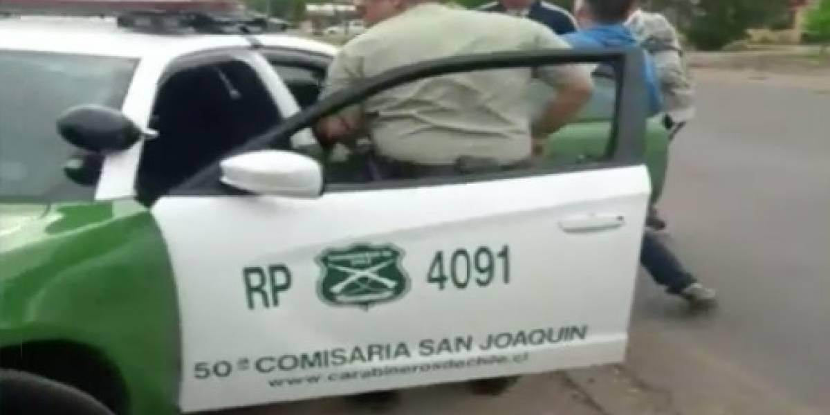 """""""Este hombre toda la vida ha dado problemas"""": conmoción en San Joaquín por sujeto que mató a niña apuñalándola en el corazón"""