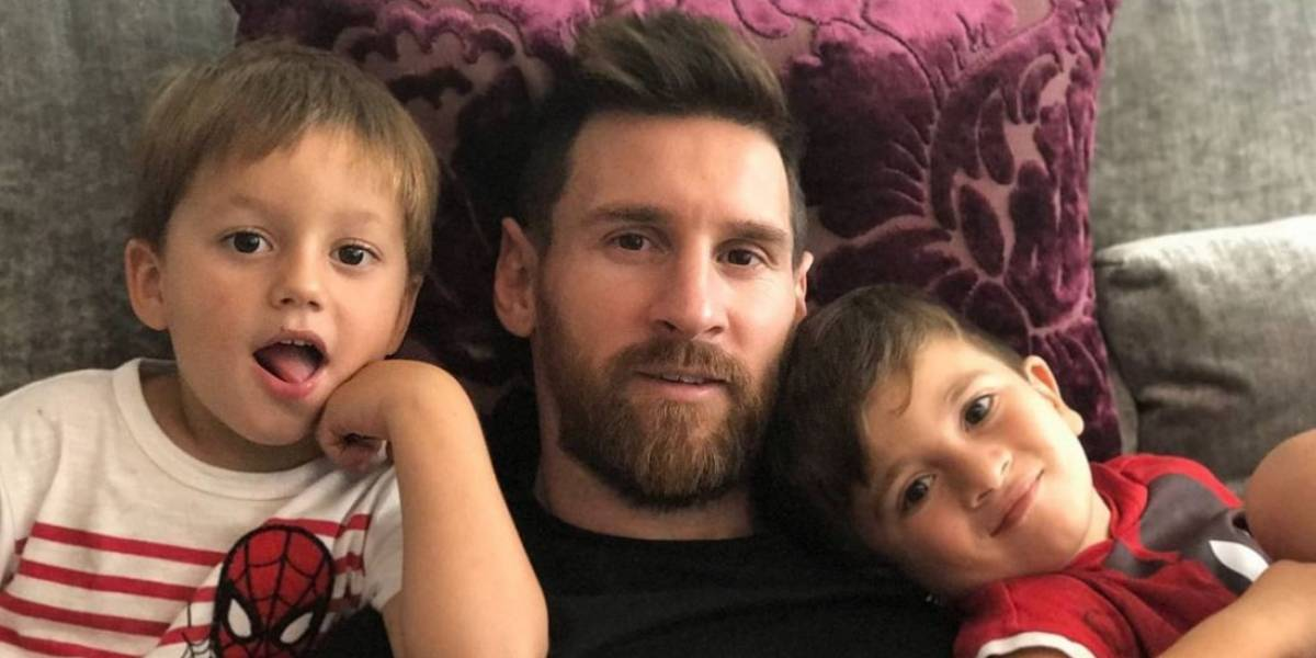 Messi reveló el sexo de su tercer hijo y confesó que ya está pensando en tener uno más