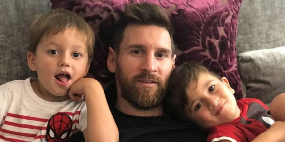 Messi reveló el sexo de su tercer hijo