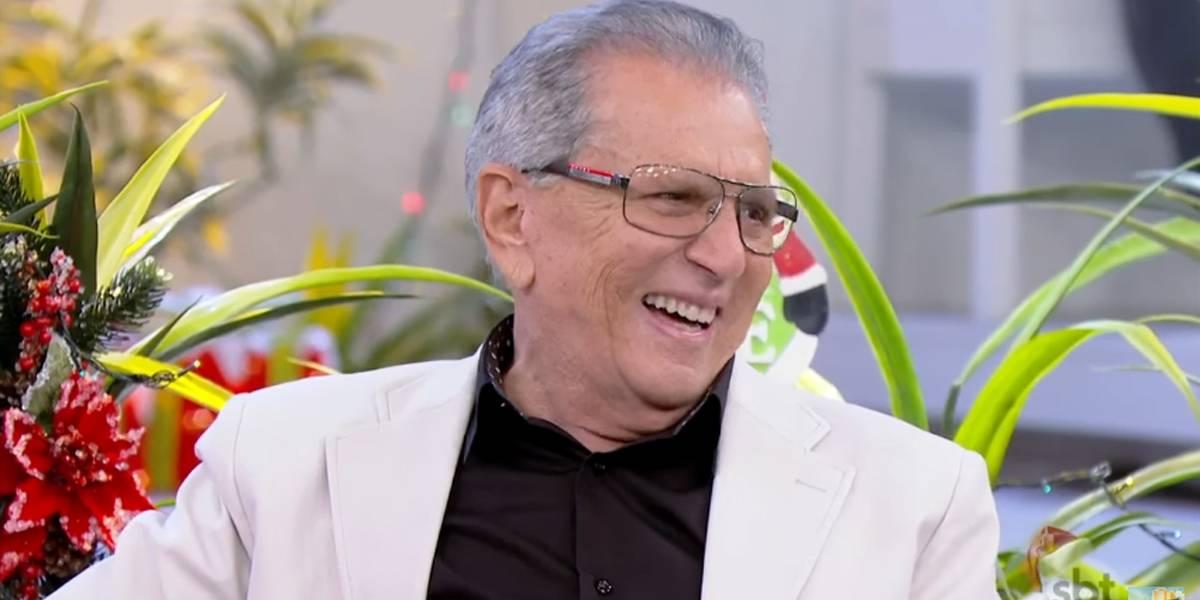 Aos 81 anos, Carlos Alberto de Nóbrega revela que queria ter outro filho