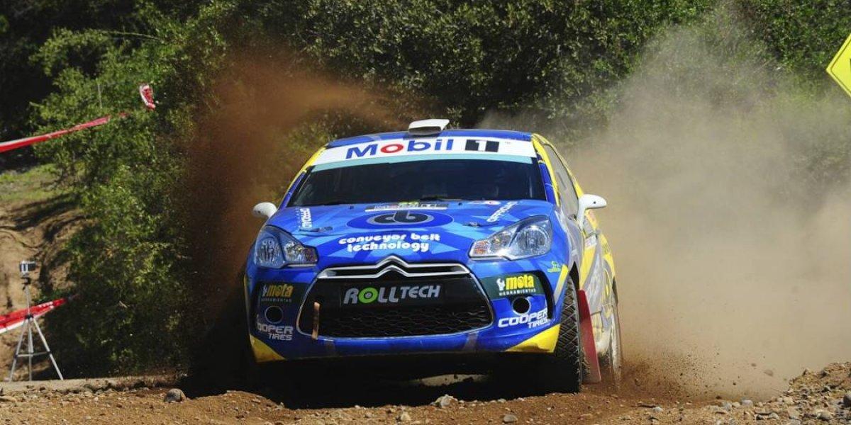 Cristóbal Vidaurre es el nuevo campeón de la R3 del Rally Mobil