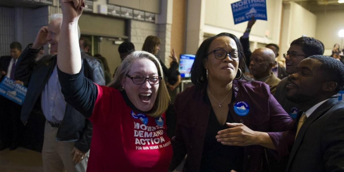 Como se esperaba, demócratas ganan elección en Virginia y Nueva Jersey