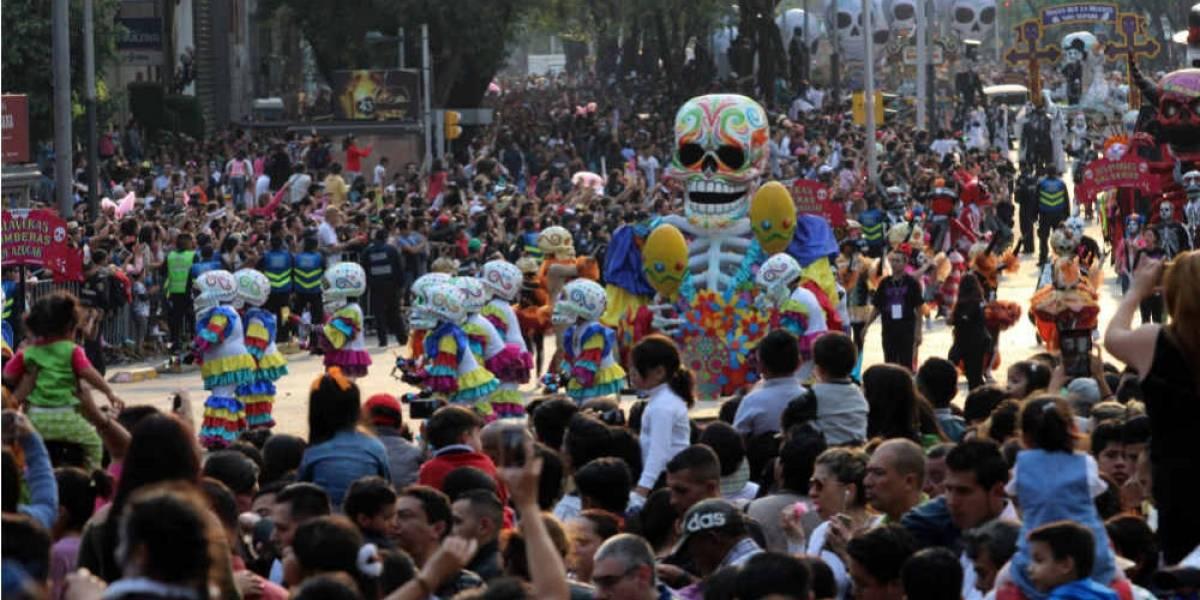 Desfile de Día de Muertos en la CDMX ¿privado?