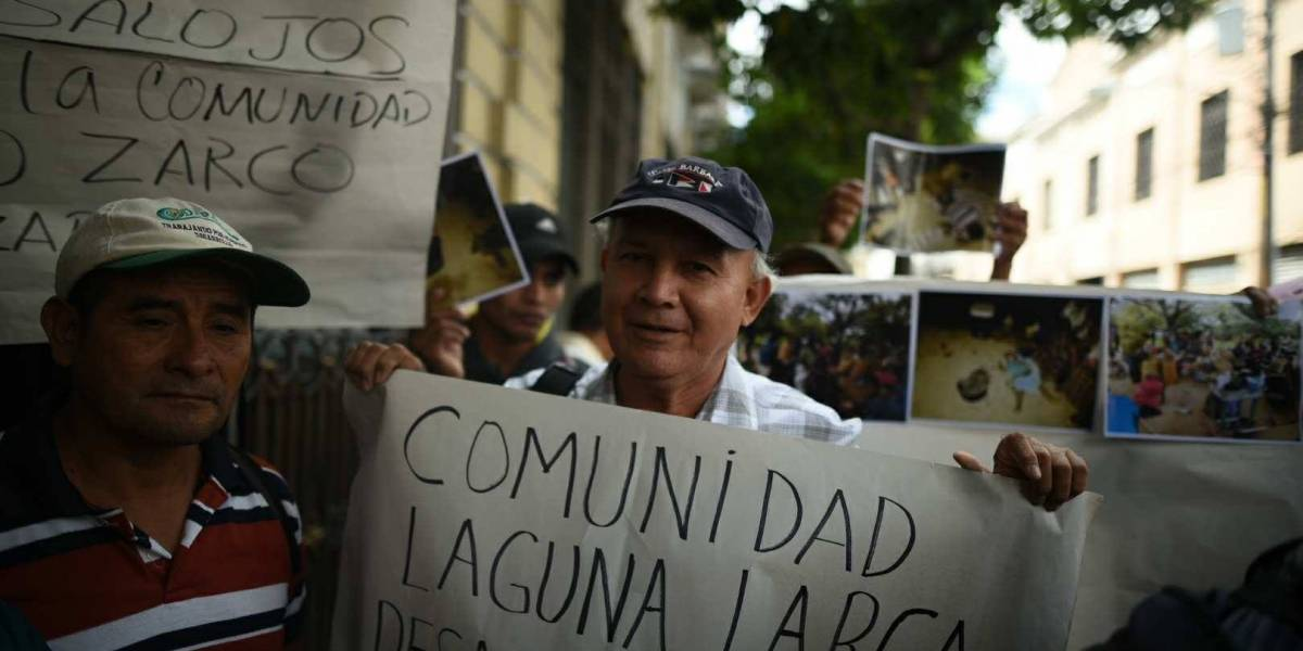 Desalojados de Laguna Larga piden que se cumpla medida cautelar