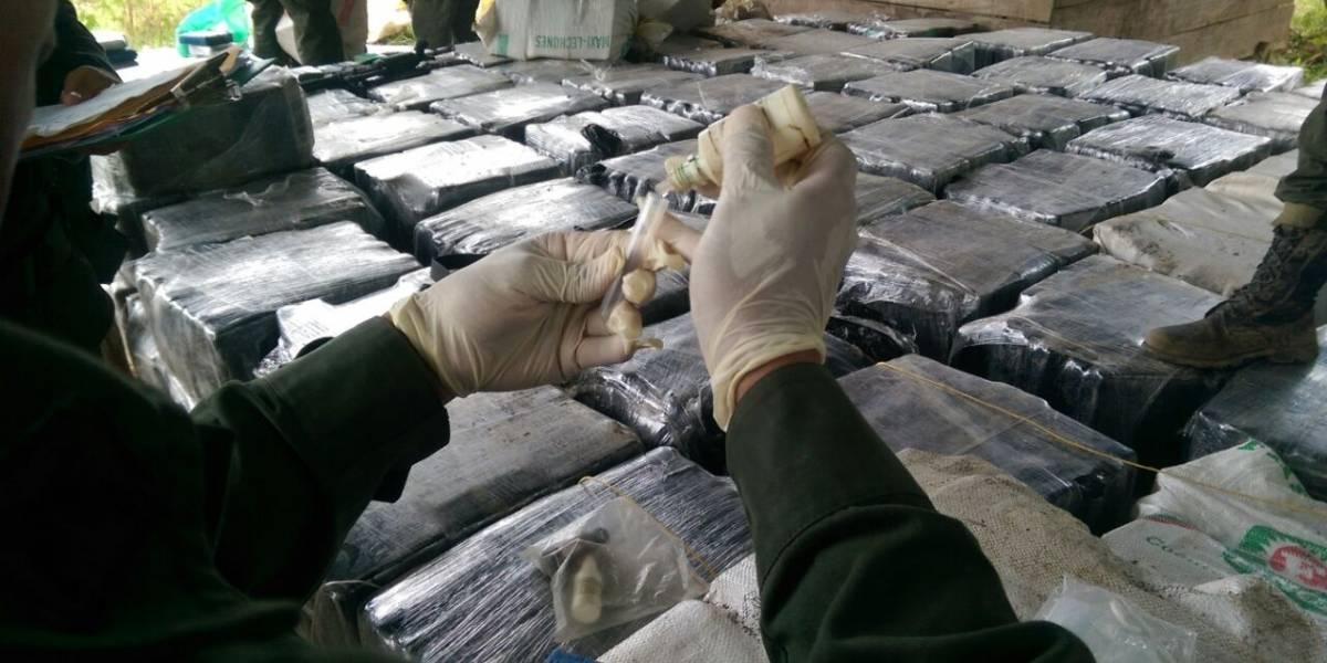 Policía incauta más de 12 toneladas de cocaína del Clan del Golfo