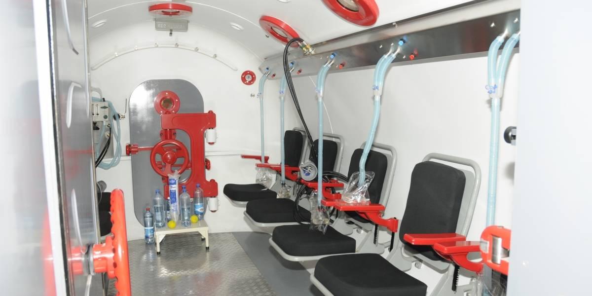 U. de Chile inaugurará primera cámara hiperbárica del servicio público de salud en la Región Metropolitana