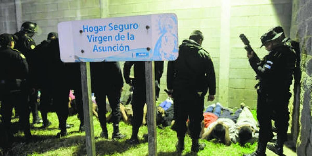 """Unicef señala """"lenta"""" respuesta de autoridades por incendio en el Hogar Seguro"""