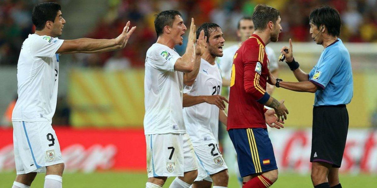 Uruguay vs. España de 2013, vinculado con empresa implicada en Paradise Papers